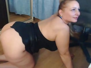 hottie mom similar to one another lingerie and wet snatch