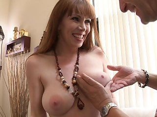 Mature lady RayVeness strips and teases in the lead having fabulous sex
