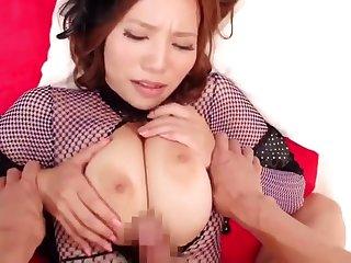 asian long nails with bigtits