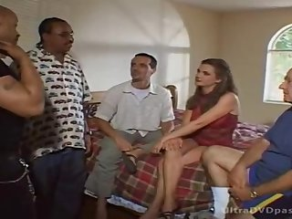 Betty Morose tries hardcore group pussy have a passion