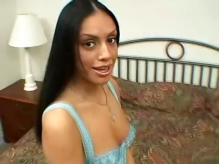 Nothing like a hot brunette sucking your dick and she's a lady volcano
