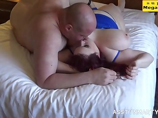 Captivating fat mom arousing sex video